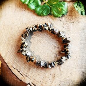 Armband Jaspis Dalmatier