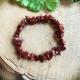 Armband Jaspis rood