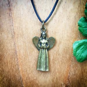 Engelenhangertje bronskleurig