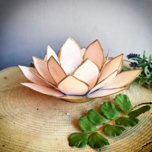sfeerlichtje Lotus lichtroze