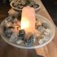 Fontein Rozenkwarts, Bergkristal