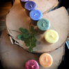 7 cakra's kleine chakrakaarsjes