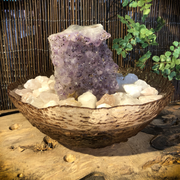 Kamerfontein Amethist, Rozenkwarts, Bergkristal